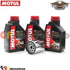 KIT TAGLIANDO OLIO + FILTRO MOTUL 7100 15W50 3L HARLEY D 1200 XR SPORTSTER 2010