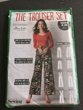 The Trouser Set Simply Sewing Pattern Uncut sizes 4-28