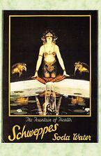 Postcard Nostalgia Schweppes Soda Water Advertising Art April 1932 #AD8