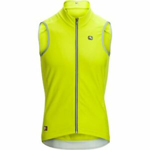 Giordana Cycling Vest Thermal FR-C PRO Acid Yellow Mens|BRAND NEW
