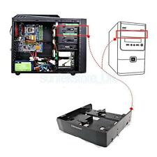 Multi-use 5.25 to 3.5 2.5 HDD SSD Mounting Bracket Mobile Rack Backplane