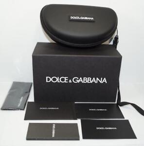 Brand New Dolce Gabbana Sport Sunglasses Eyeglasses Hard D G Case Glasses Black
