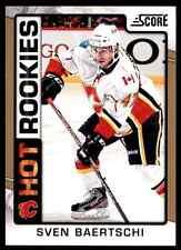 2012-13 Score Hot Rookies Sven Baertschi #518