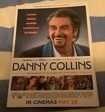 DANNY COLLINS (Al Pacino) doublesided promotional postcard
