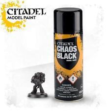 Warhammer 40K Citadel Chaos Black Primer / Undercoat Spray GAW 62-02