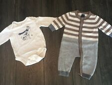 Baby Gap Lot Of 2 Articles Of Clothing Size 3-6 Months Baby Boy Or Girl Outfits