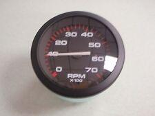 TACHOMETER 58255P OUTBOARD INBOARD I/O AMEGA 0-7000 RPM MARINE BOAT GAUGE EBAY