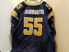 970fd5b38dc James Laurinaitis ST LOUIS LA LOS ANGELES RAMS NIKE STITCHED SEWN Jersey  size 56