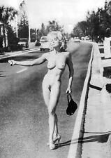 Madonna: nackte Anhalterin, Hitchhiker (1992)   UK Import Poster 59 x 84 cm
