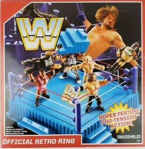 WWE Official Retro Wrestling Ring Mattel 2017 discontinued