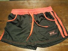 Mens red and black  Workout Shorts Size  MEDIUM