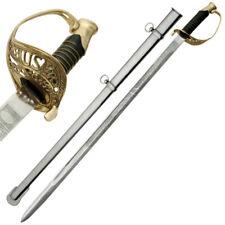 "(36"") Civil War Union Staff & Field Officer's Sword Replica - Saber - Army Model"