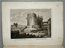 1818c.Inc/Rame.ROMA: SEPOLCRO DI CECILIA METELLA  par NIBBY - Parboni-Ruga.