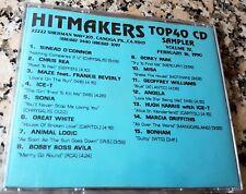 HITMAKERS TOP 40 CD SAMPLER 32 RARE DJ CD 1990 Ice-T Chris Rea Misa Sonia Bonham