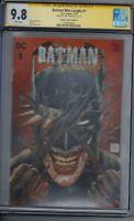 Batman Who Laughs 1 CGC 9.8 Torpedo Comics A Variant Cover SIGNED Tony S Daniel