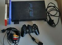 Sony PlayStation PS2 Console with Controller, Leads & Games | TESTED & WORKING
