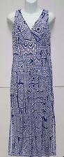 WOMENS cool summer MAXI DRESS = CHAPS by Ralph Lauren = LARGE = NEW $110 = ym66