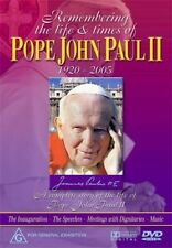 Remembering The Life and Times of Pope John Paul II 2 Catholic DVD R4