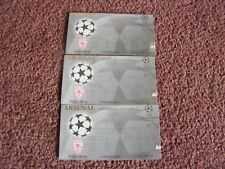 Billets X 3 Arsenal Ligue des Champions @ Wembley 1998