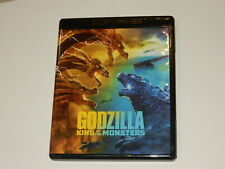 """""""Godzilla King Of The Monsters"""" 2-Disc 4K Ultra Hd & Blu-Ray Mint Condition"""
