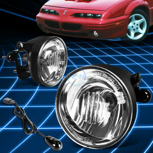 For 94-03 Pontiac Grand Prix/01-06 Chevy Suburban Tahoe Clear Fog Lights+Switch