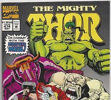 The Mighty THOR #474 vs The Monsters of Mogul from Aug. 1995 in F/VF Avengers
