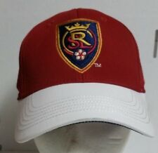 6234f45e51b adidas Real Salt Lake Red White Authentic Team Structured Flex Hat MLS  (YOUTH)