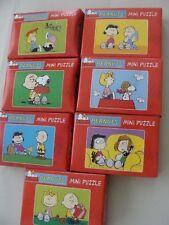 7x verschiedene HEYE PEANUTS Mini-Puzzle  für Fans