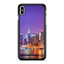New York City Attraction Colourful Lights Reflecting Into Water Phone Case Cover