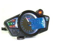 Koso Multifunctional Speedometer RX1N GP Style - Black with Blue Lighting