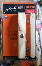 Gainsborough Sliding Patio Door DeadLock Entrance Double cylinder Ivory/cream