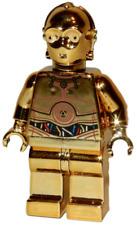 **NEW** LEGO Custom Printed - CHROME GOLD C-3PO - Star Wars Minifigure