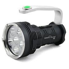 Sidiou groupe projecteur haute puissance super bright 8000 lumens 6X cree xm-l T6 led
