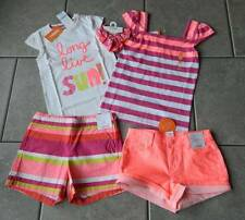 Size 6 years outfit Gymboree,Bright and Beachy,NWT,tops,shorts,5 pc.set