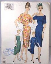 Vogue Couturier 211 Sewing Pattern Slim Skirt Dress & Jacket Size 14 Bust 34 FF