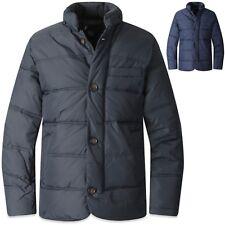 Mens Button Down Padding Coat Blazer Casual Jacket Jumper Outdoor Parka Top T034