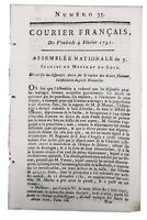 Le Puy en Velay 1791 Auvergne Sept-Saulx Marne Dinan Lamballe Sarthe Mamers