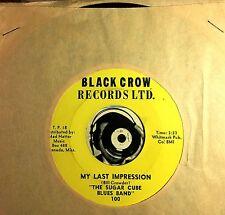 Sugar Cube Blues Band 45 Rare1960s Mississippi Garage Band My Last Impression