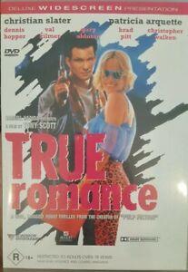 TRUE ROMANCE RARE DVD CHRISTIAN SLATER & PATRICIA ARQUETTE CULT TARANTINO FILM