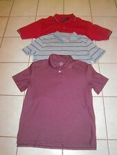 3 Men's Polo Golf Shirts Size Medium PING & St. John's Bay - Excellent Condition