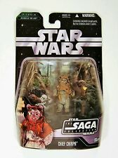 Hasbro Star Wars Saga Collection Chef Ewok Chirpa 3.75 Figurine