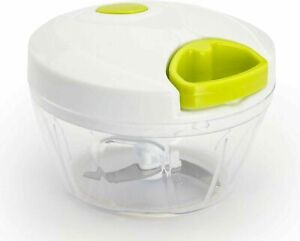 Hand Chopper Manual Food-Processor Pull String To Slice Vegetables,Onions etc