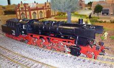 Locomotiva a vapore Fleischmann BR 51 con generatore di fumo Seuthe