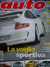 AUTO n°4 2006 Audi Q7 Cayenne Turbo S BMW Z4M Alfa 159 SW Mercedes R 320 [Q199A]