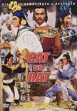 Cat vs Rat - Hong Kong Rare Kung Fu Martial Arts Action movie - New Dvd