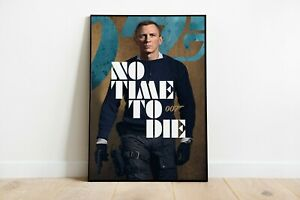 No Time To Die Movie Poster Wall Art Maxi Print Shows 007 James Bond 2021 - 1938
