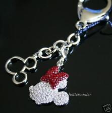 $130 New Swarovski Crystal Disney Minnie Key Ring Charm