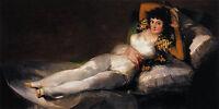Nice Oil painting Francisco de Goya - Female The Clothed Maja (La Maja Vestida)