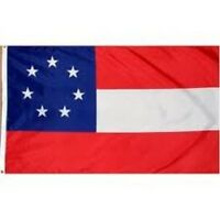 7 STARS and BARS FLAG NEW 3X5ft 1ST FIRST civil war superior quality fade resist