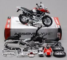Maisto 1:12 BMW R1200GS Assemble DIY Motorcycle Bike Model Toy Red New In Box
